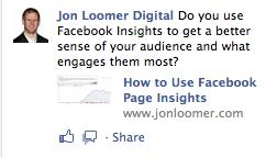 Despre promovarea pe Facebook